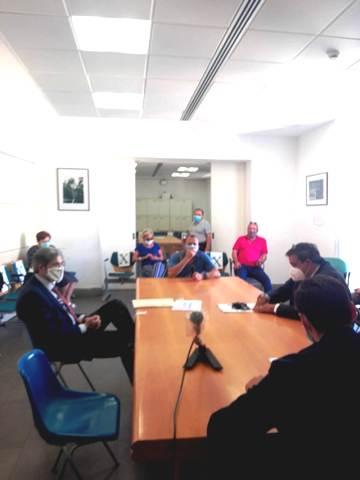 riunione sala Nugnes