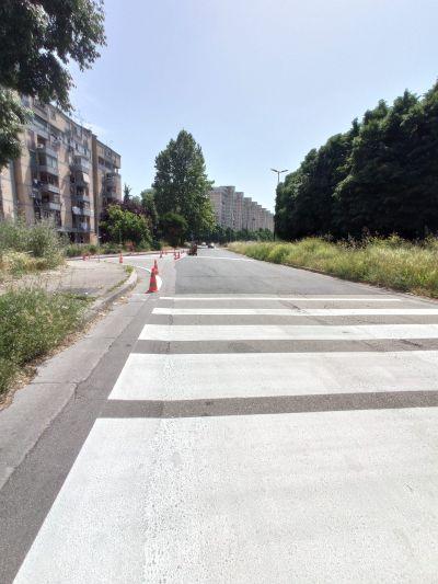 Assessore Gaudini: iniziati i lavori di segnaletica orizzontale a via Ghisleri