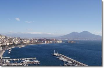 panorama del golfo di Napoli