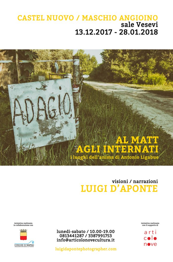 Al matt agli internati / I luoghi dell'anima di Antonio Ligabue