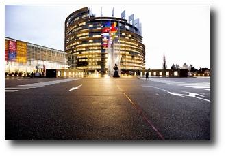 Strasburgo, sede del parlamento europeo