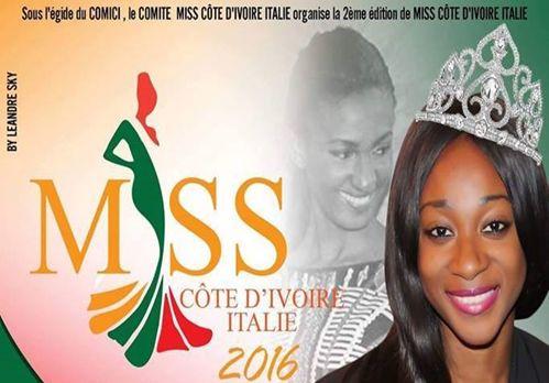 Miss Côte d'Ivoire Italie 2016
