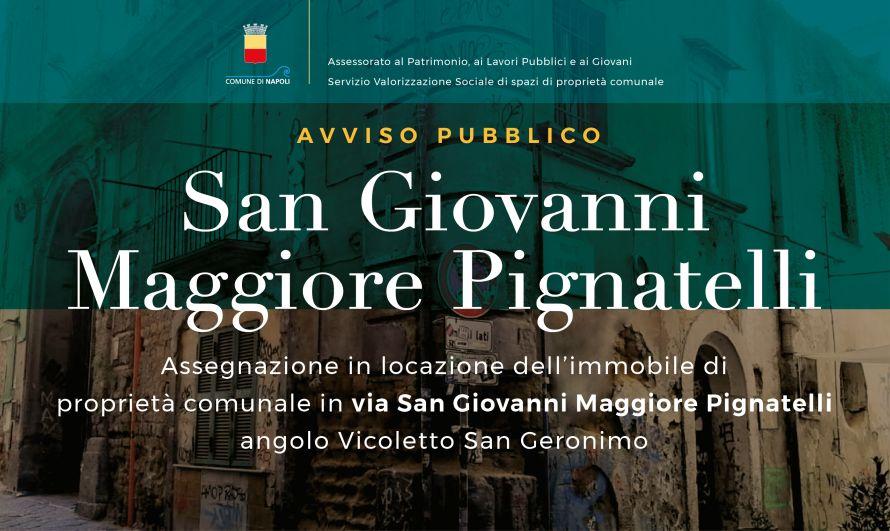 Avviso pubblico San Giovanni Maggiore Pignatelli