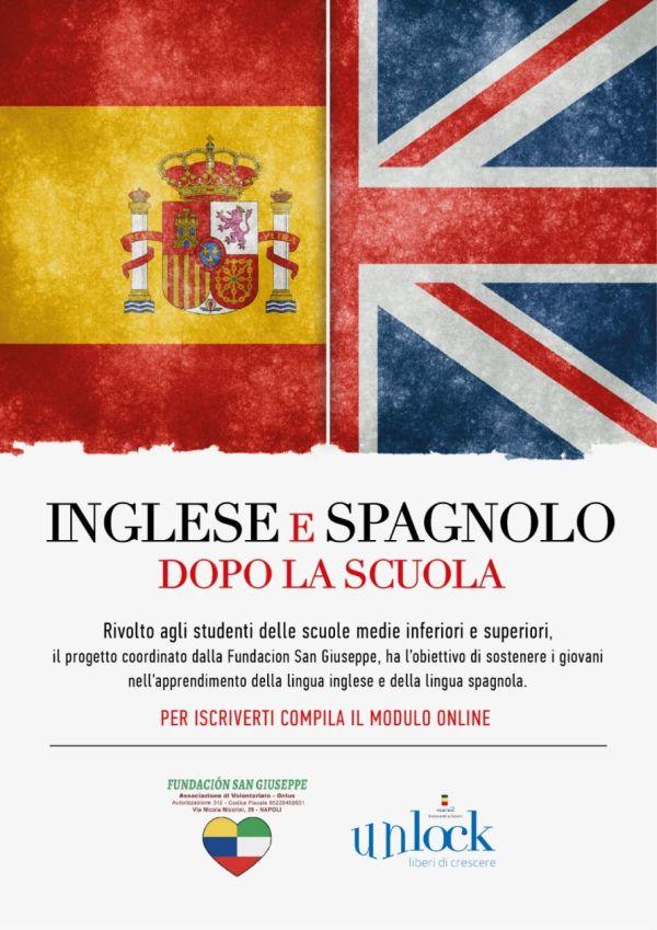 Inglese e Spagnolo dopo la scuola