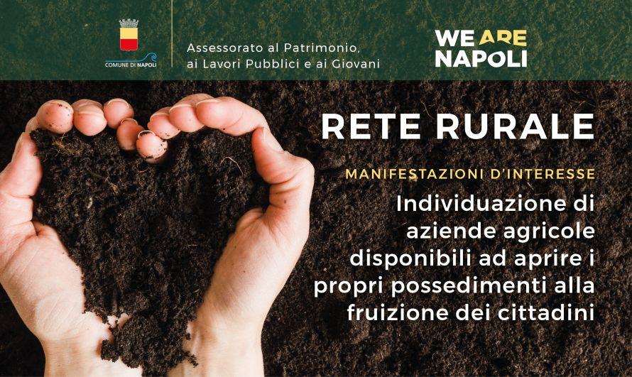 Acquisizione di manifestazioni d'interesse per l'individuazione di aziende agricole disponibili ad aprire i propri possedimenti alla fruizione dei cittadini