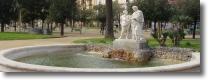 Foto di una fontana