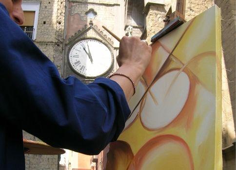 """XII Concorso di Pittura Estemporanea - """"L'Arte a Sant'Eligio e piazza Mercato"""""""