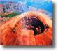 il cono e il cratere del vesuvio. foto di Carlo Tripodi 1997