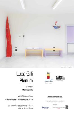 """""""Plenum"""" personale di Luca Gilli"""