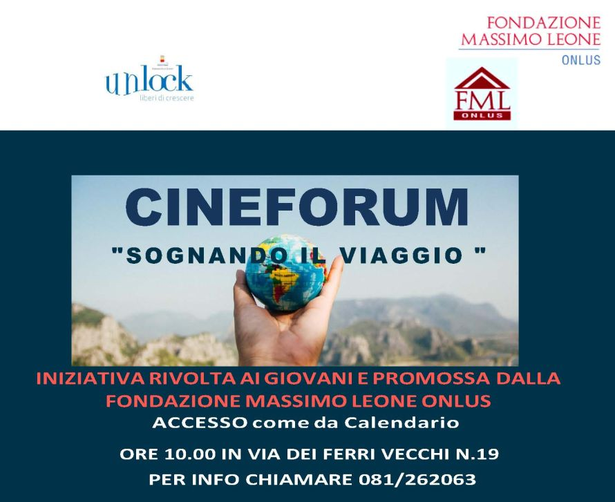 "Cineforum ""Sognando il viaggio"""