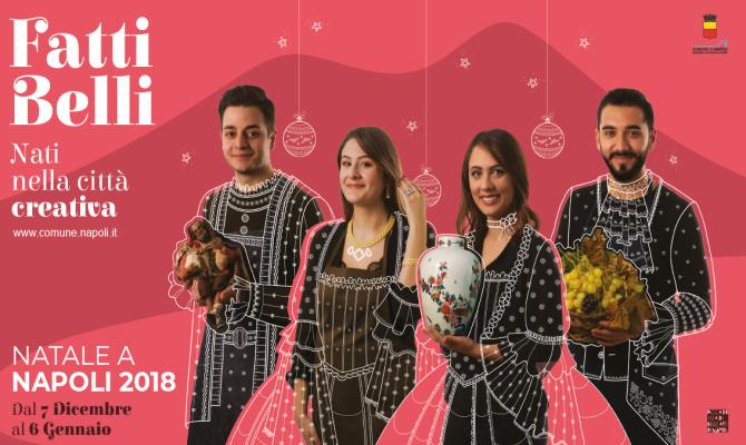 Locandina Natale a Napoli 2018