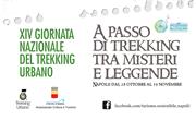 Torna la Giornata Nazionale del Trekking Urbano