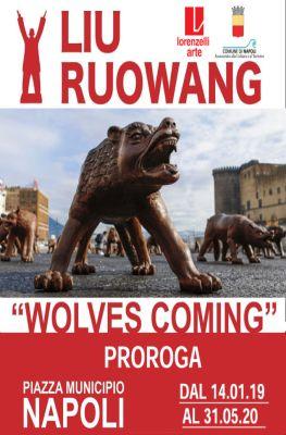 """Installazione """"Wolves Coming"""" prorogata al 31 maggio 2020"""