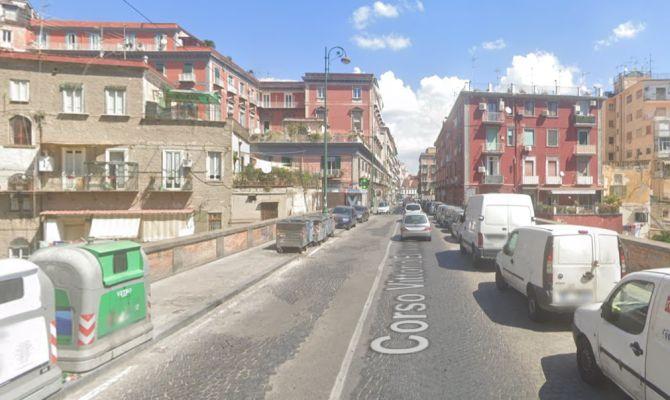 Corso Vittorio Emanuele da Google Maps