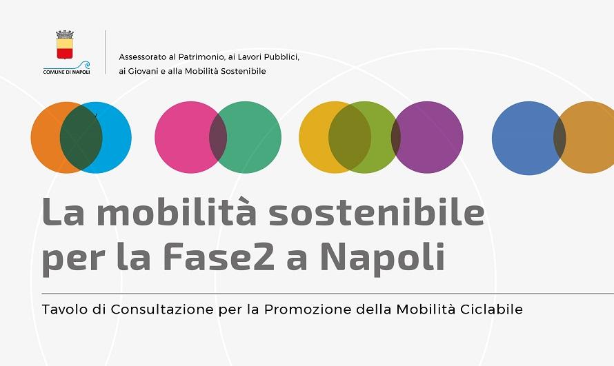 La Mobilità Sostenibile per la Fase 2 a Napoli