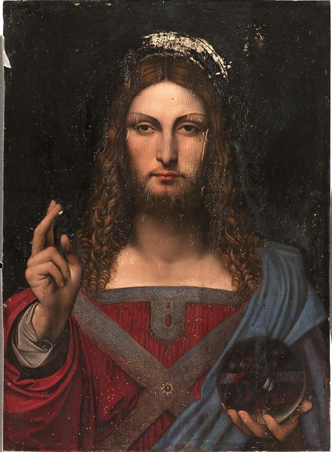 Leonardo a Donnaregina - I Salvator Mundi