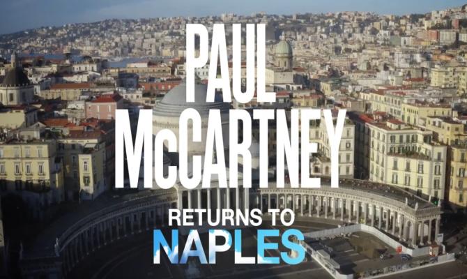 Bentornato Paul: il 10 giugno 2020 concerto di Paul McCartney in Piazza Plebiscito