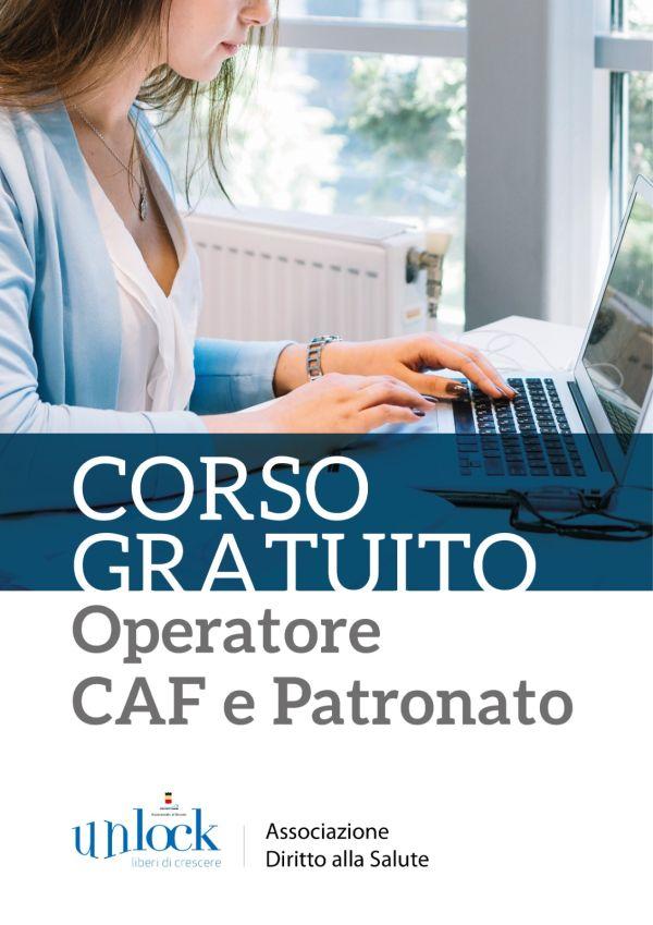 Corso di Operatore CAF e Patronato