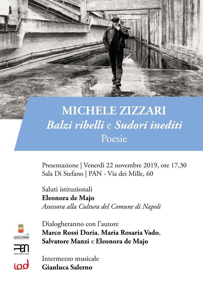 """Michele Zizzari """"Balzi ribelli e Sudori inediti"""" Poesie"""