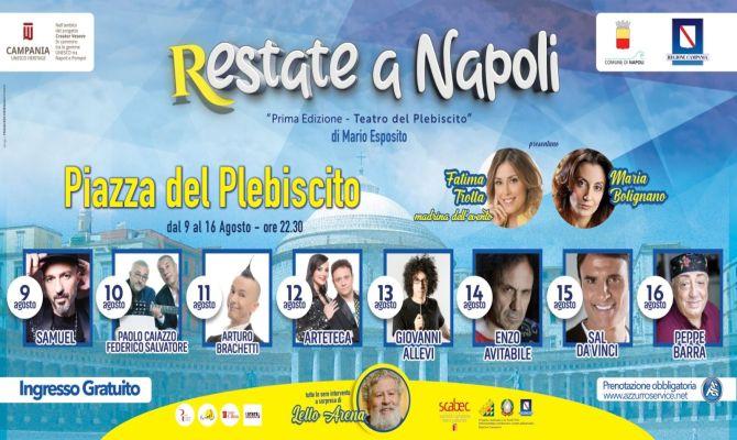 Restate a Napoli. Il Teatro del Plebiscito
