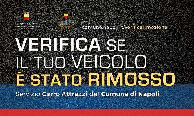 Parte il nuovo servizio di rimozione dei veicoli in divieto di sosta per la città di Napoli