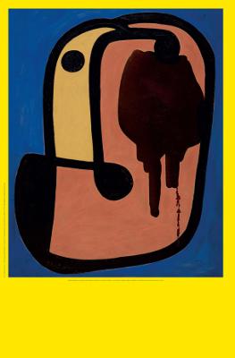 """locandina """"Joan Miró. Il linguaggio dei segni"""""""