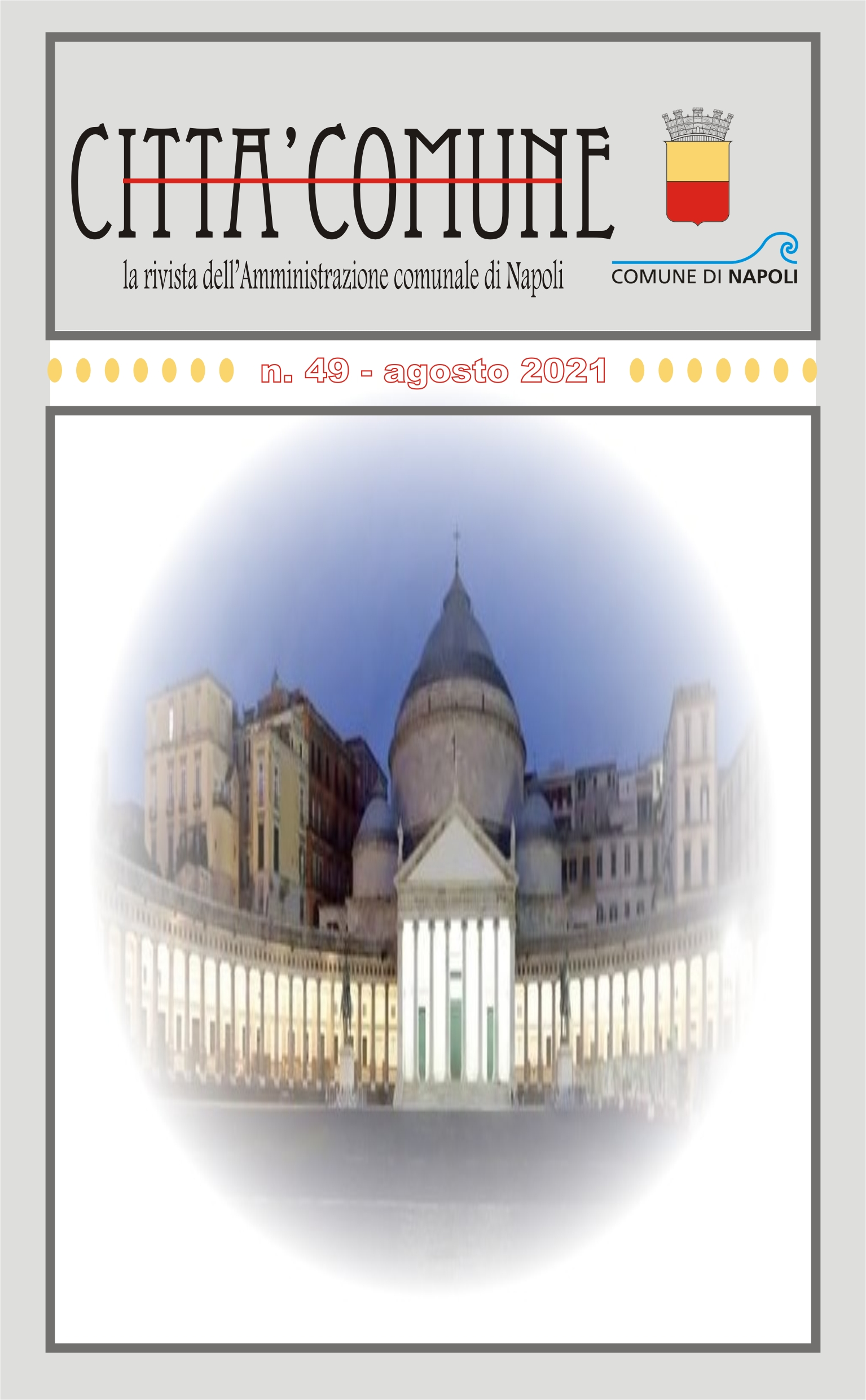 Copertina di CittàComune