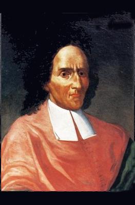 Un dipinto raffigurante Giambattista Vico