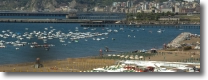 spiaggia e porto turistico