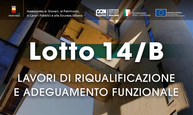 Tavolo di Confronto Lotto 14/B per la definizione delle linee guida dell'avviso pubblico per la gestione degli spazi da riqualificare
