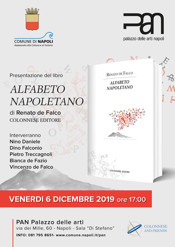 """Presentazione del libro """"Alfabeto Napoletano"""" di  Renato de Falco"""