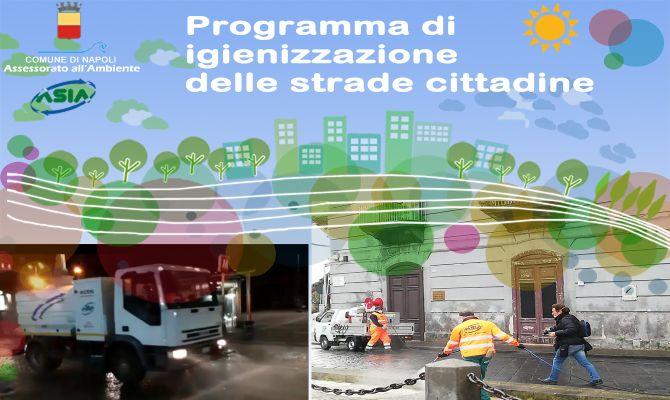 Programma di igienizzazione delle strade cittadine