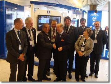 i rappresentanti del Comune di Napoli allo IAC 2010