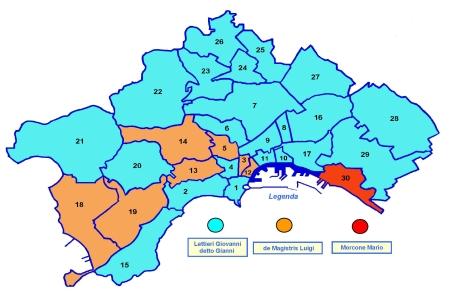 Quartieri Di Napoli Cartina.Comune Di Napoli Il Comune Area Statistica Archivio Storico Statistico Delle Elezioni Amministrative Consiglio Comunale 2011