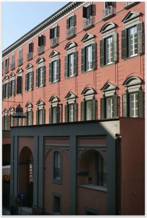 Palazzo Roccella visto dall'esterno