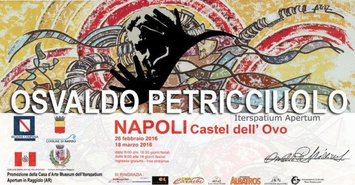 """Mostra Antologica d'Arte di Osvaldo Petricciuolo """"Iterspatium Apertum"""""""