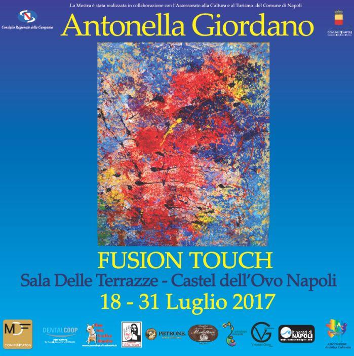 Fusion Touch - Personale di Antonella Giordano