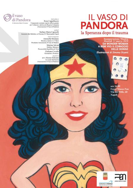 Comune Di Napoli Da Wonder Woman A Bebe Vio Il Coraggio Delle Donne