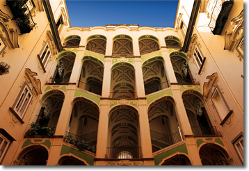 Comune di napoli maggio dei monumenti 2010 quarto week for Palazzo in stile spagnolo