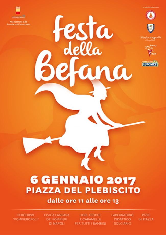 Comune Di Napoli Festa Della Befana In Piazza Del Plebiscito
