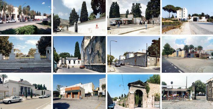 Foto dei cimiteri cittadini