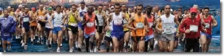 foto di maratoneti