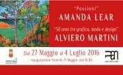 Spoleto Arte incontra Napoli: grande attesa per la mostra di Amanda Lear ed Alviero Martini