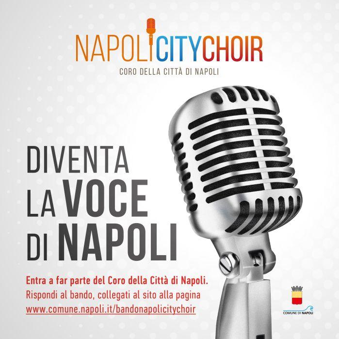 Manifestazione d'interesse per l'ammissione al Napoli City Choir