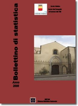 copertina bollettino di statistica 2008