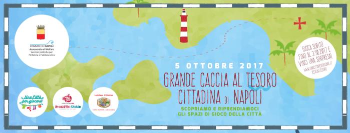 Grande caccia al tesoro cittadina di Napoli - 5 ottobre 2017