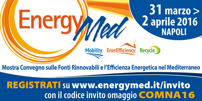 Energymed 2016: smart & green challenge