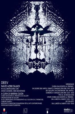 immagine locandina del progetto espositivo Deev