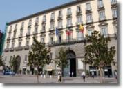 Palazzo San Giacomo - Sede del governo della Città.