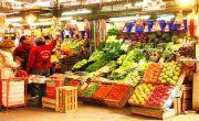 Frutta in vendita in un mercato